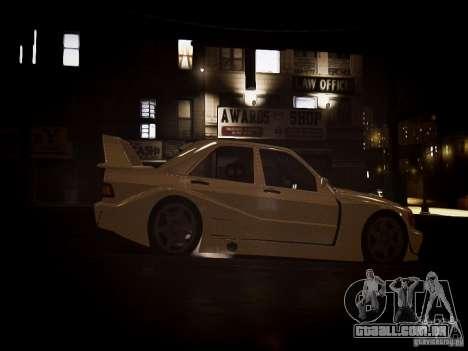 Mercedes 190E Evo2 para GTA 4 vista direita