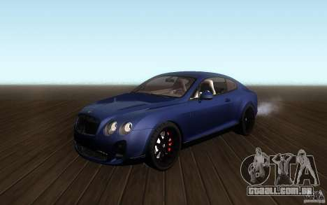 Bentley Continental SS para GTA San Andreas