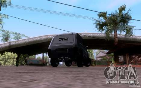 VAZ Niva 21213 arrastar para GTA San Andreas esquerda vista