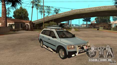 Volvo XC90 V8 2008 para GTA San Andreas vista traseira
