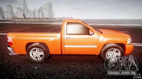 Chevrolet Silverado 2011 para GTA 4 vista lateral