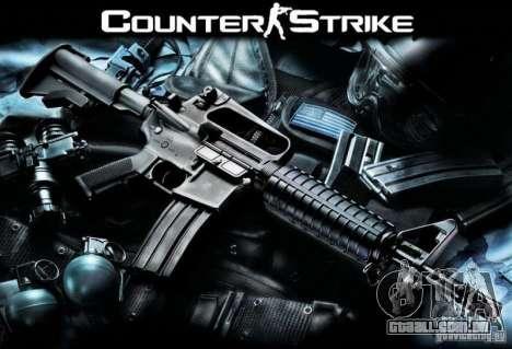 Armas do Counter Strike para GTA San Andreas