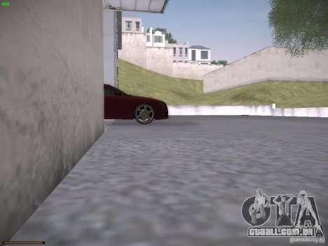 Audi S5 para GTA San Andreas vista superior