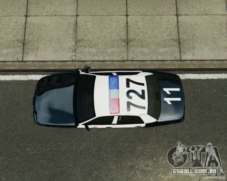 Ford Crown Victoria LAPD para GTA 4 vista de volta