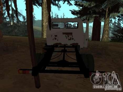 Uma gazela para GTA San Andreas por diante tela