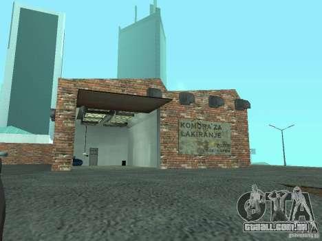 IMW Old Zastava Car Showroom para GTA San Andreas quinto tela
