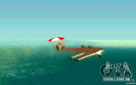 FlexyDolphin para GTA San Andreas esquerda vista