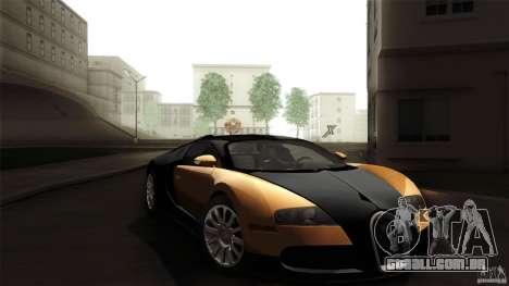 Bugatti Veyron 16.4 para vista lateral GTA San Andreas