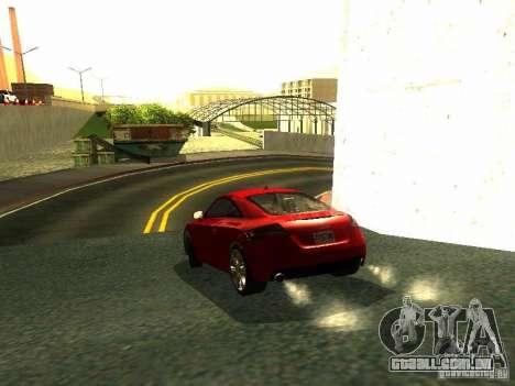 Audi TT 2009 v2.0 para GTA San Andreas vista direita