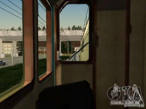 Tem2um-463 para GTA San Andreas vista interior