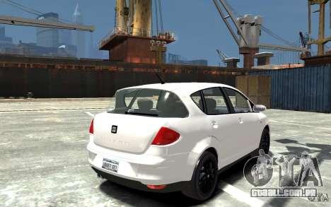 Seat Toledo para GTA 4 vista direita