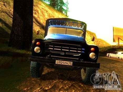 ZIL 431410 para GTA San Andreas vista traseira