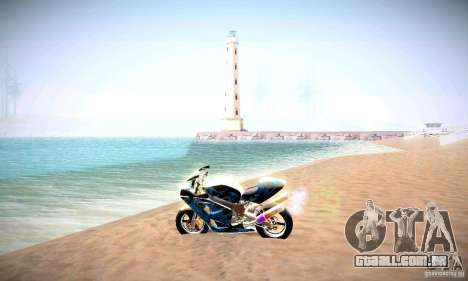 ENBSeries por _SilveR_ v 2.0 para GTA San Andreas por diante tela