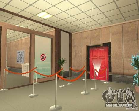 Banco em Los Santos para GTA San Andreas sexta tela