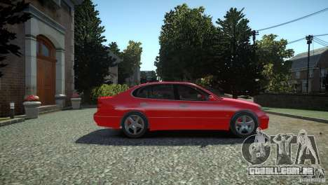 Toyota Aristo para GTA 4 vista direita