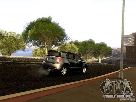 Scion xD para GTA San Andreas vista inferior