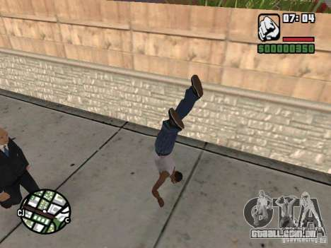 PARKoUR para GTA San Andreas oitavo tela
