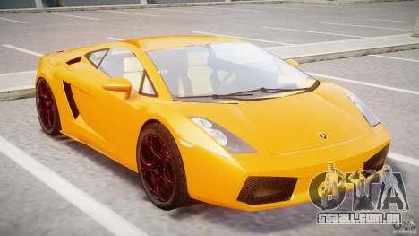 Lamborghini Gallardo Superleggera para GTA 4 esquerda vista
