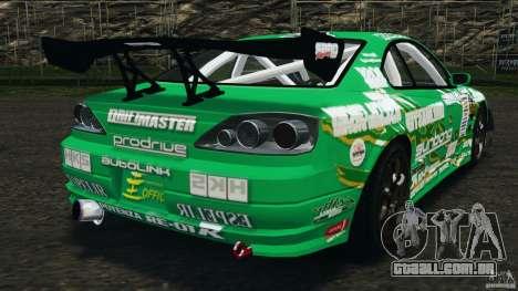 Nissan Silvia KeiOffice para GTA 4 traseira esquerda vista