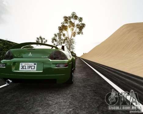 Mitsubishi Eclipse GT-S para GTA 4 vista direita