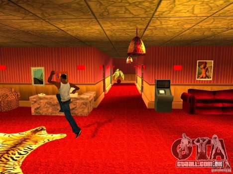 Bordel Cj v 1.0 para GTA San Andreas terceira tela