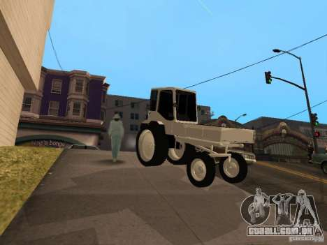 Trator T16M para GTA San Andreas esquerda vista