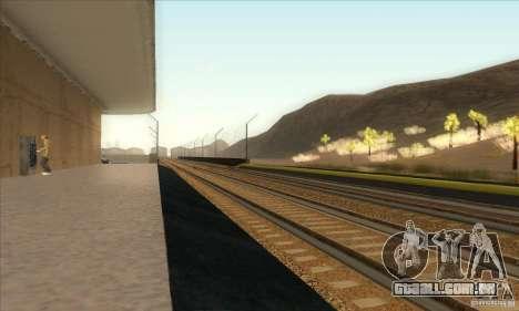 Russian Rail v2.0 para GTA San Andreas sétima tela