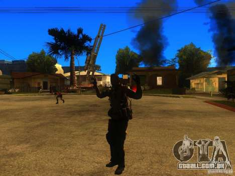 Animation Mod para GTA San Andreas oitavo tela