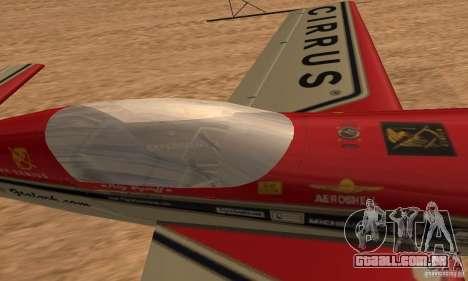 Extra 300L para GTA San Andreas vista direita