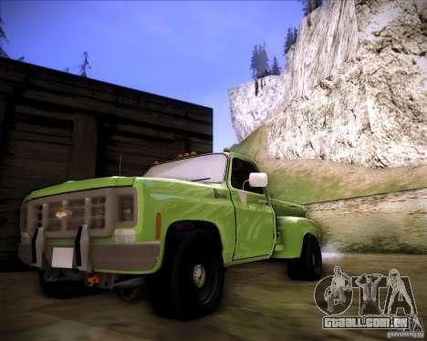 GMC 80 para GTA San Andreas esquerda vista