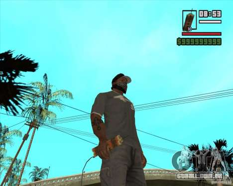 Call of Juarez Bound in Blood Weapon Pack para GTA San Andreas quinto tela