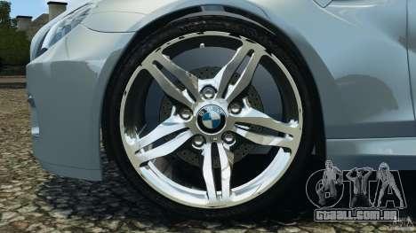 BMW M6 Coupe F12 2013 v1.0 para GTA 4 vista de volta