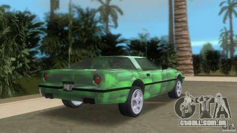 Reptilien banshee para GTA Vice City vista traseira esquerda