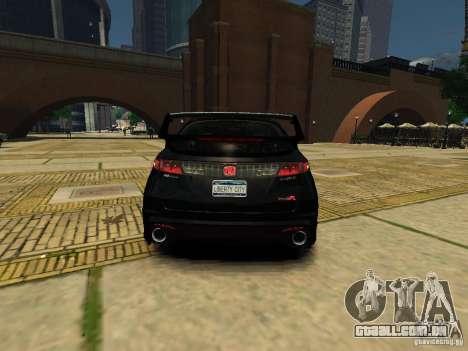 Honda Civic Type R Mugen para GTA 4 traseira esquerda vista