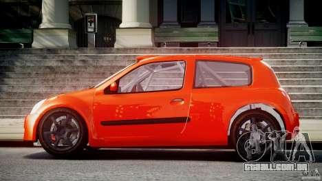 Renault Clio Sport para GTA 4 esquerda vista