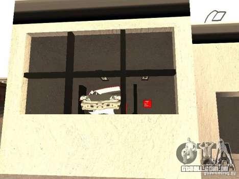 Garagem GRC em SF para GTA San Andreas quinto tela