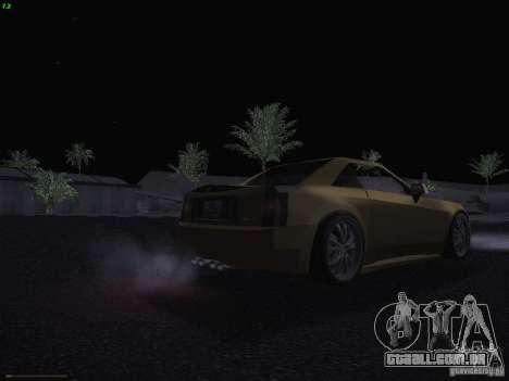 Cadillac XLR 2006 para GTA San Andreas vista inferior