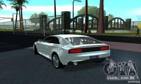 Audi Quattro Concept 2013 para GTA San Andreas vista direita