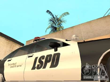 Chevrolet Caprice 1991 LSPD para vista lateral GTA San Andreas
