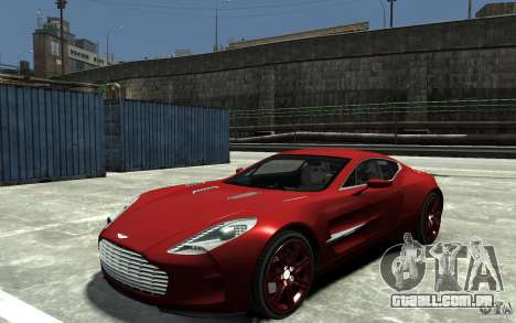 Aston Martin One 77 para GTA 4