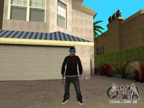 Black Rifa SkinPack para GTA San Andreas terceira tela