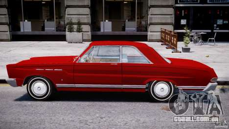 Ford Mercury Comet 1965 para GTA 4 traseira esquerda vista