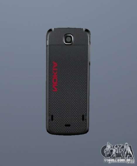 Nokia 5130 XM para GTA Vice City segunda tela