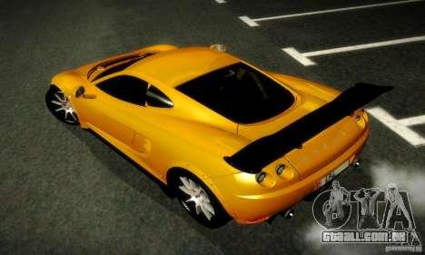 Ascari KZ1R Limited Edition para GTA San Andreas vista traseira