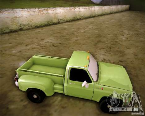 GMC 80 para GTA San Andreas vista direita
