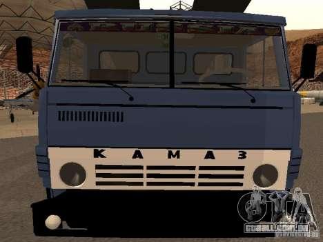 Caminhão KAMAZ para GTA San Andreas vista direita