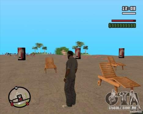 CJ-prefeito para GTA San Andreas por diante tela