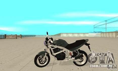GTAIV PCJ600 FINAL para GTA San Andreas esquerda vista