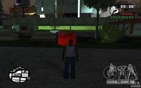 A missão da mãe de CJ para GTA San Andreas segunda tela