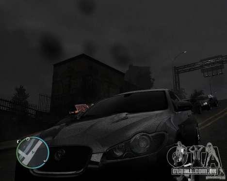 Jaguar XF-R para GTA 4 traseira esquerda vista
